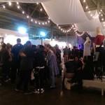 Gallery reception