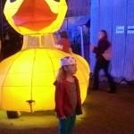 Glowing Duck