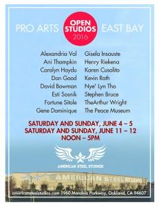 East Bay Open Studios @AmSteel! @ American Steel Studios | Oakland | California | United States